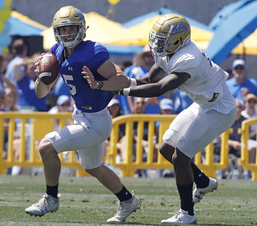UCLA's Matt Lynch is one of many players who entered the transfer portal this offseason.