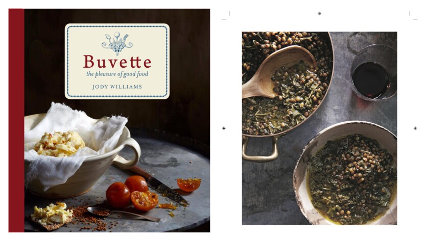 Buvette: the pleasures of good food by Jody Williams