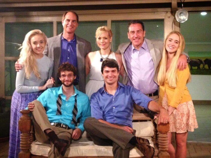 From the staged reading of 'The Lady from the Sea,' in August 2014: (sitting) J. Tyler Jones and Graham Ehlers Sheldon, (standing) Tatiana Mac, John Tessmer, Rin Ehlers Sheldon, Rob Biter and Molly O'Meara.
