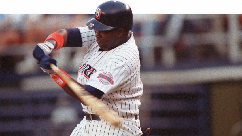 Padres Hall of Famer Tony Gwynn's .394 batting average in 1994 is the closest anyone has come to hitting .400 since Ted Williams batted .406 in 1941.