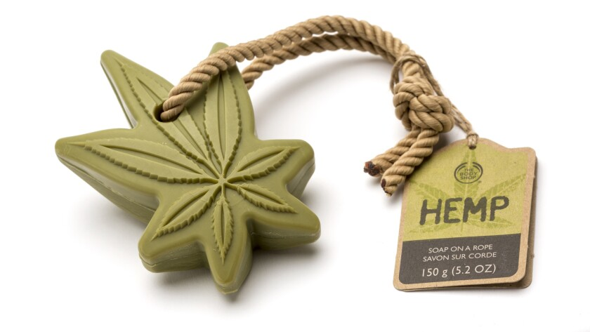 The Body Shop's Hemp Soap on a Rope.