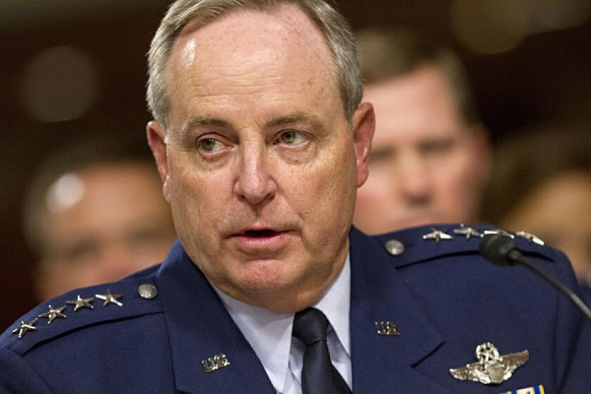The cheating was discovered during an investigation of two officers suspected of drug possession, said Gen. Mark A. Welsh III, the Air Force chief of staff.