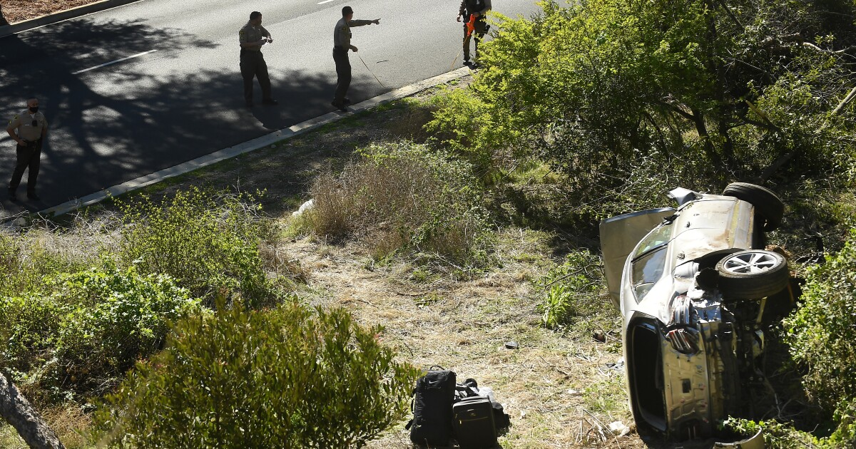 Tiger Woods injured in serious car accident in L.A. – Los Angeles Times