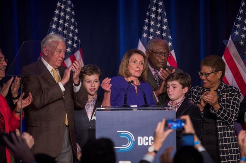 Pelosi dice que en comicios estaba en juego la salud de la democracia de EEUU