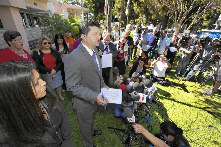 Bell Gardens news conference