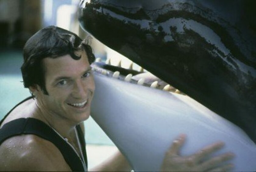 In his younger days, Butcher, of Precision Behavior, spent 18 years with SeaWorld, where he served as corporate vice-president of animal behavior.