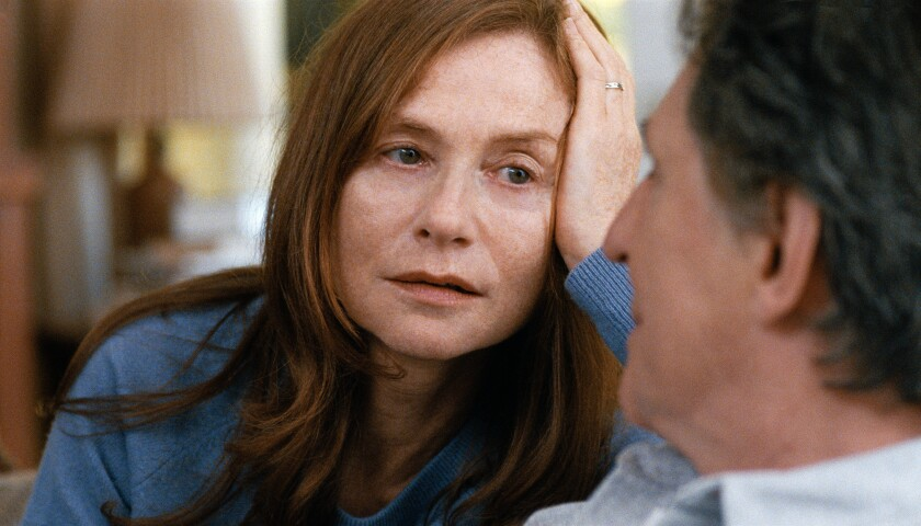 """Isabelle Huppert in a scene from """"Louder Than Bombs."""""""