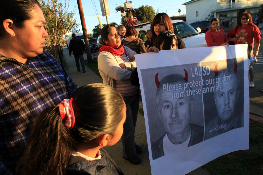 LAUSD will pursue firing of Miramonte teacher after charges