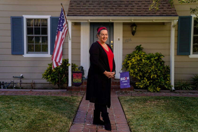 Los Angeles Unified teacher Lisa Bennett.
