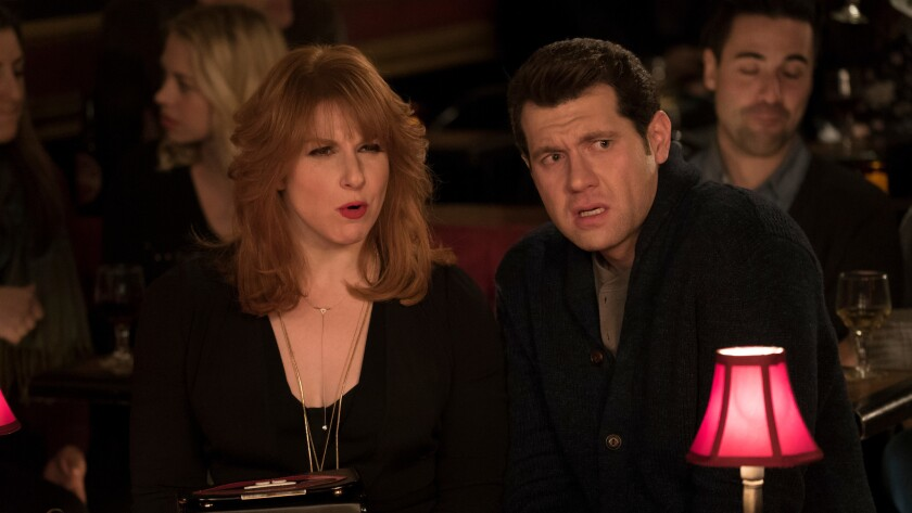 "Billy Eichner and Julie Klausner in ""Difficult People"" on Hulu."