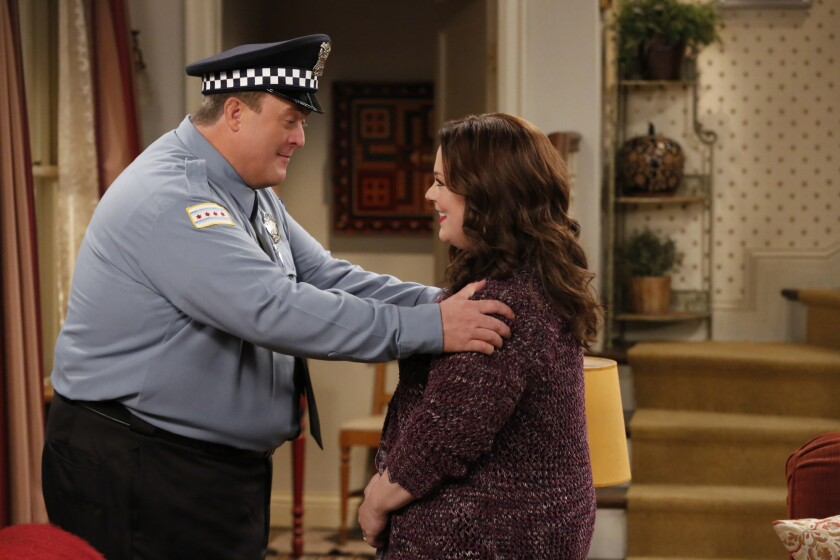 "Billy Gardell and Melissa McCarthy star in ""Mike & Molly"" on CBS. The show will end after this season."