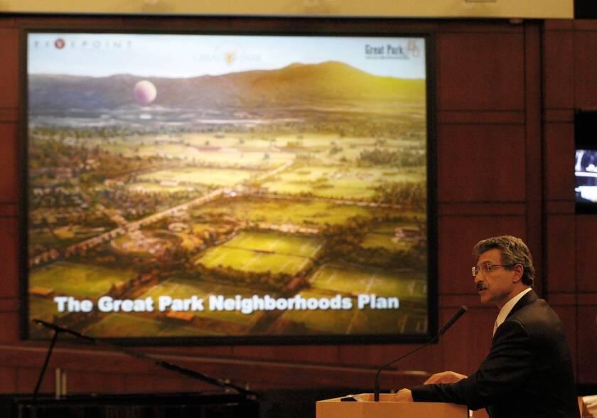 Developer set to build smaller version of Irvine's Great Park