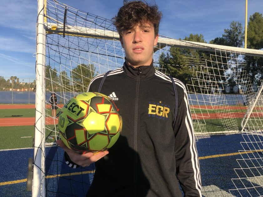 Luca Thomaseto of Brazil has scored eight goals for El Camino Real.