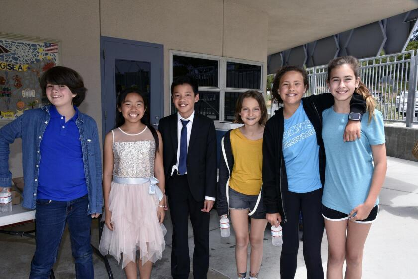 Noah, Angelina, Terence, Niko, Maya, Faith