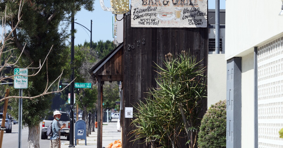 Tinhorn Flats, which defied COVID-19 orders, is evicted - Los Angeles Times