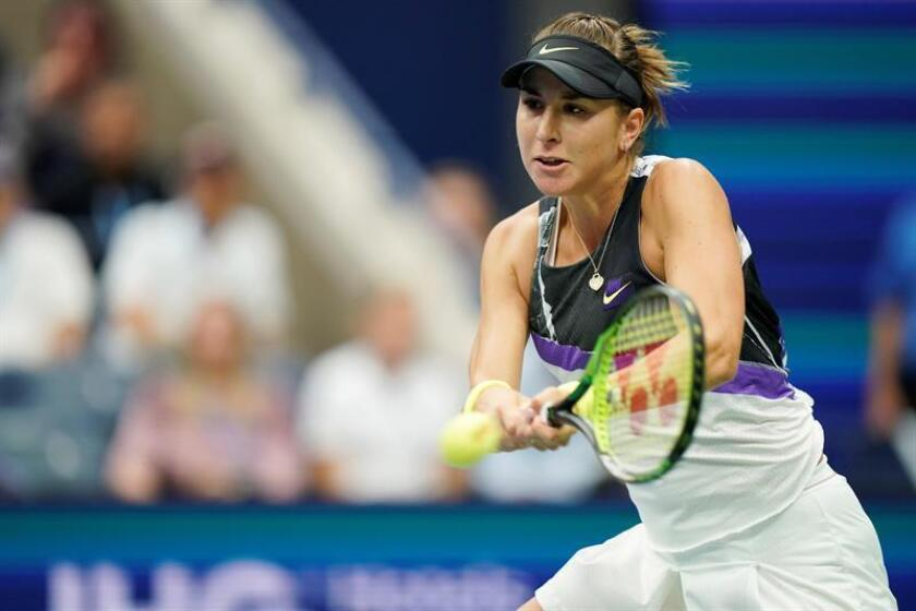 Bencic knocks defending champion Osaka out of US Open