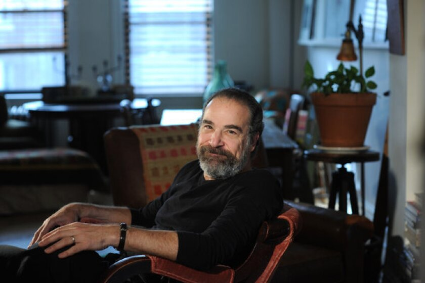 Actor and singer Mandy Patinkin, who currently stars in Homeland, is seen in his home in Manhattan, NY