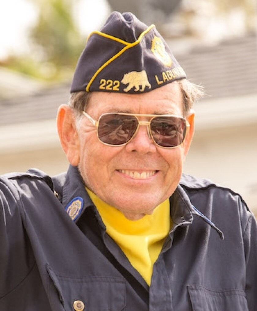 Richard Moore, an Air Force veteran, joined American Legion Auxiliary Unit 222. Membership has previously only been available to women related to veterans.