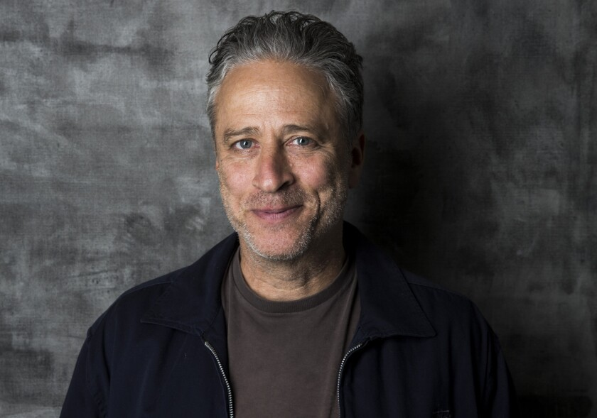 """The Daily Show"" host Jon Stewart."