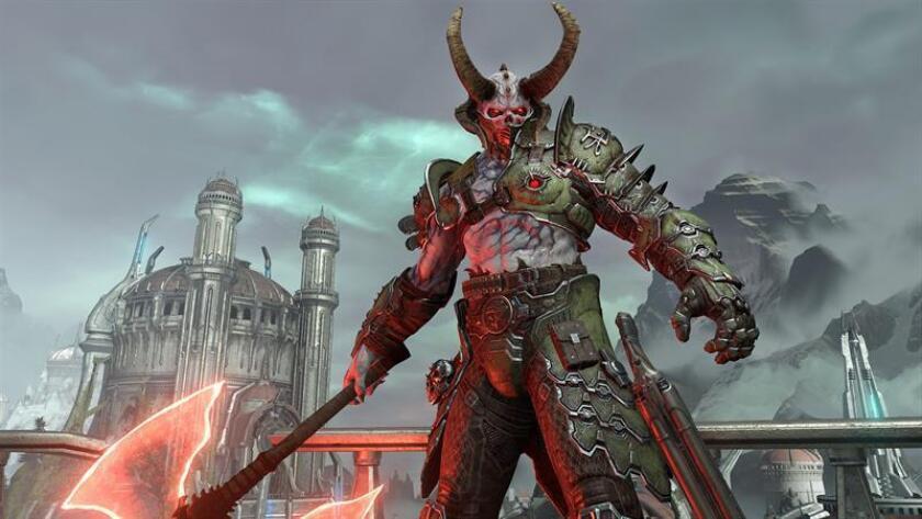 """El mundo infernal de """"DOOM Eternal"""" lidera el desembarco de Bethesda en la E3"""
