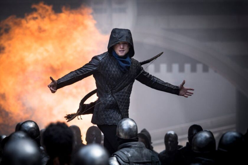 Taron Egerton as Robin Hood in the Lionsgate movie.