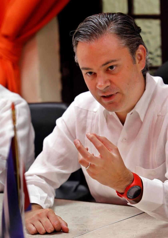 El secretario de Educación Pública en México, Aurelio Nuño Mayer. EFE/Archivo