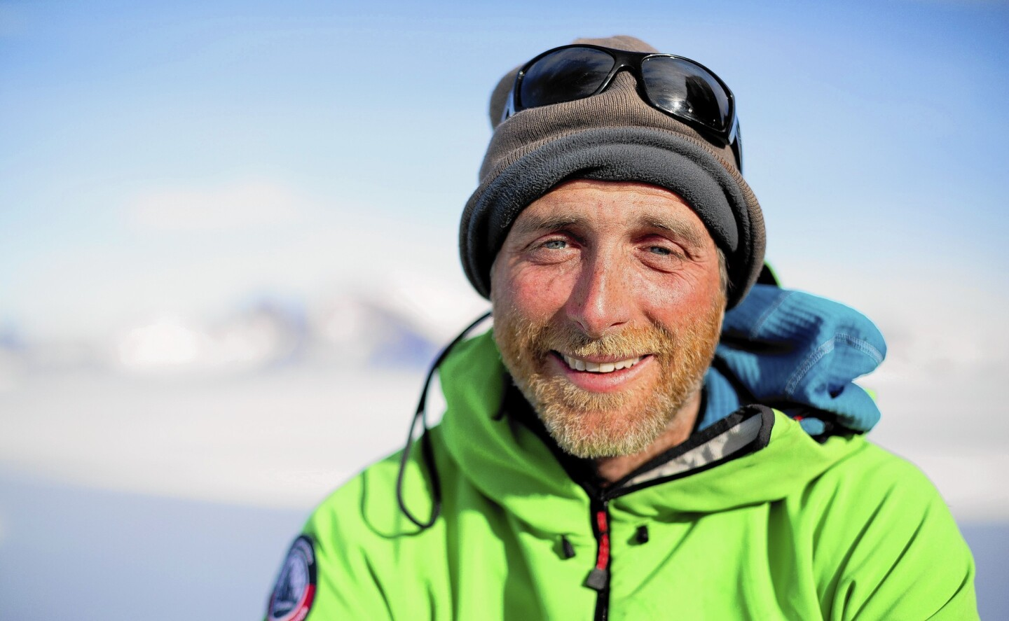 """Sean """"Stanley"""" Leary during an expedition to Antarctica; he was found dead March 23 in Zion National Park after a BASE jumping accident."""
