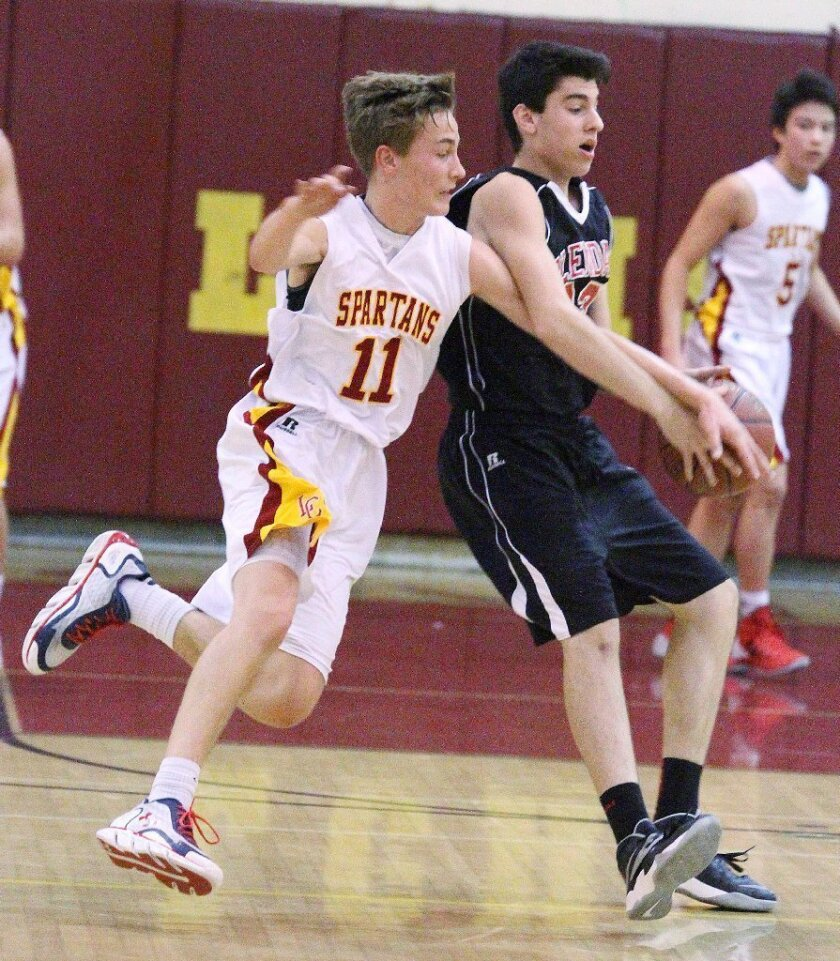 Long-range shooting carries La Cañada High boys' basketball past Glendale