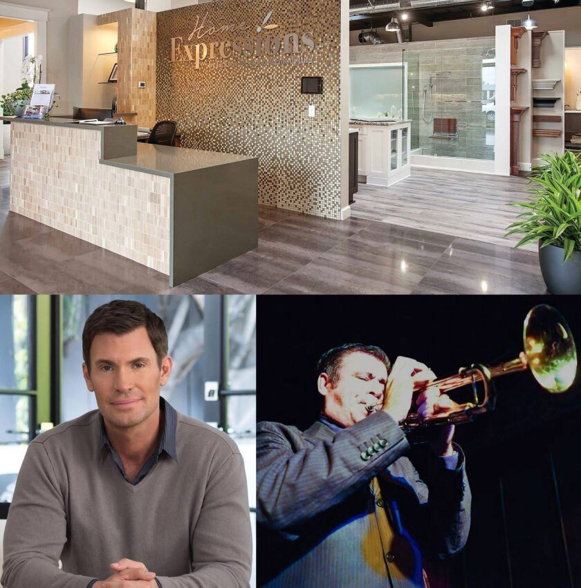 Home Expressions by Jackson Design and Remodeling hosts an Open House Saturday, June 18, 2016 from 12 p.m. to 4 p.m. with Jeff Lewis, star of Bravo's hit reality show, 'Flipping Out,' and legendary jazz musician Gilbert Castellanos.
