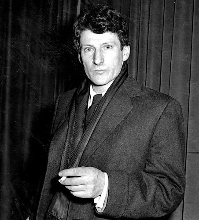 German-born British painter Lucian Freud poses for the camera in 1958. Freud's career as an artist spanned almost 50 years. He has been described as one of the great painters of the 20th century, with one of his most famous paintings, of a large nude woman sleeping on a couch, selling for $33.6 million.