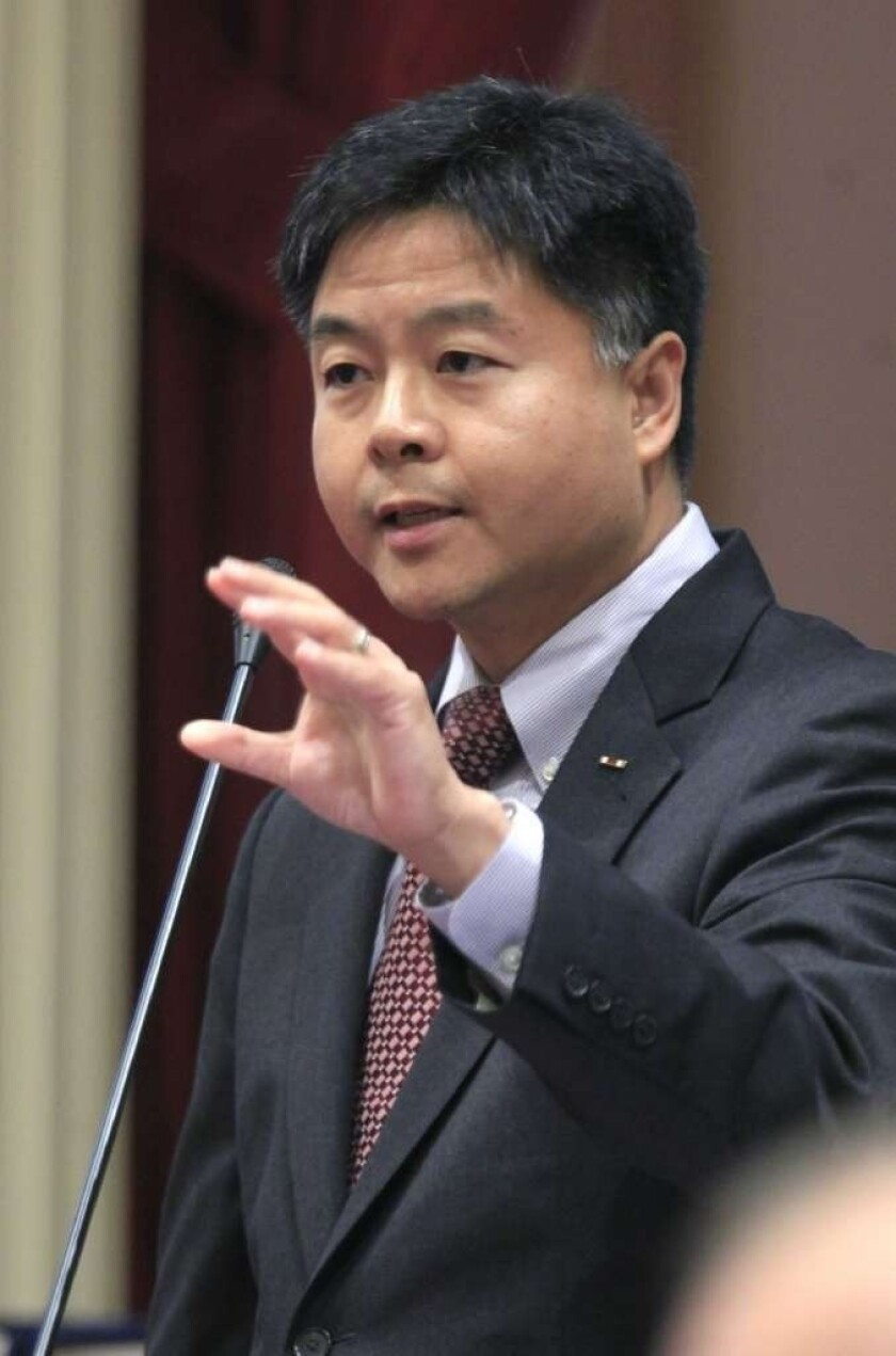Sen. Ted W. Lieu (D-Torrance) introduced the bill, which quickly gained bipartisan support.