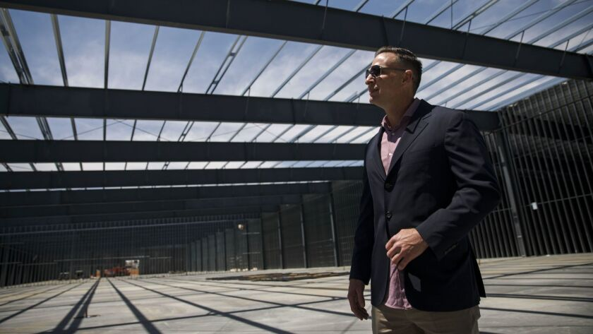 James Previti, a developer in the Inland Empire, is building 21 units for marijuana cultivation in A