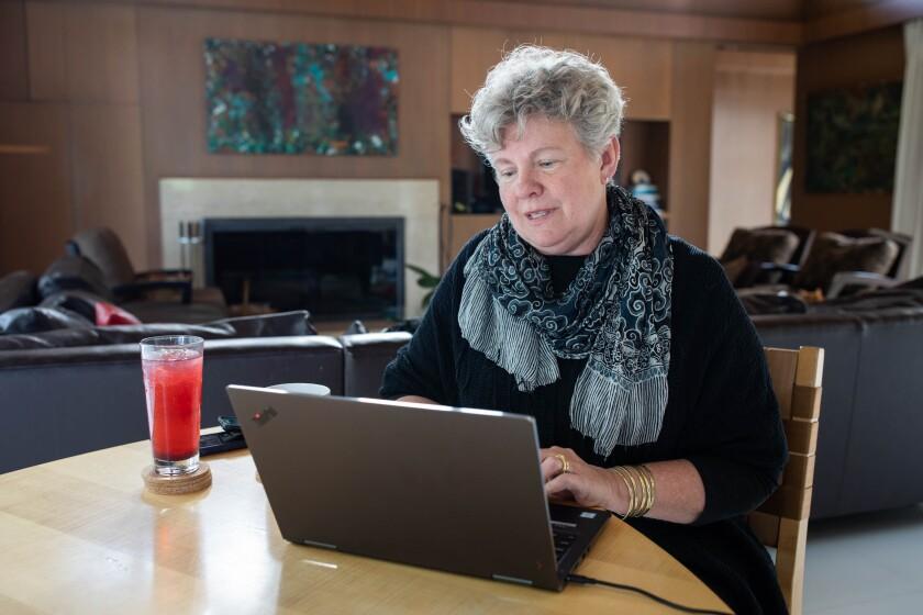 Santa Cruz County Health Officer Dr. Gail Newel.