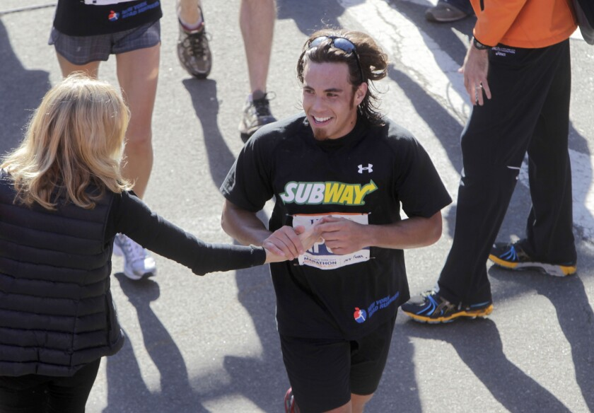 Apolo Ohno shifts from 'Dancing With the Stars' to Ironman triathlon