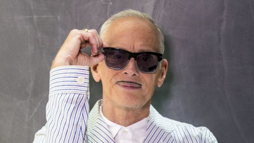 """An author photo of John Waters for his new book """"Mr. Know-It-All."""" Credit: GREG GORMAN"""