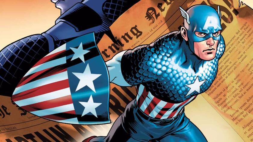 'Captain America: Steve Rogers' cover