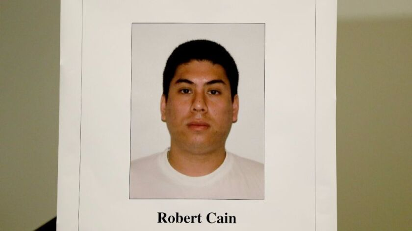 LAPD Officer Robert Cain