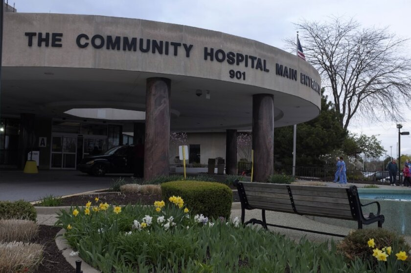 An Illinois man became infected with Middle East respiratory syndrome after being in close contact with a MERS patient who was treated at Community Hospital in Munster, Ind.
