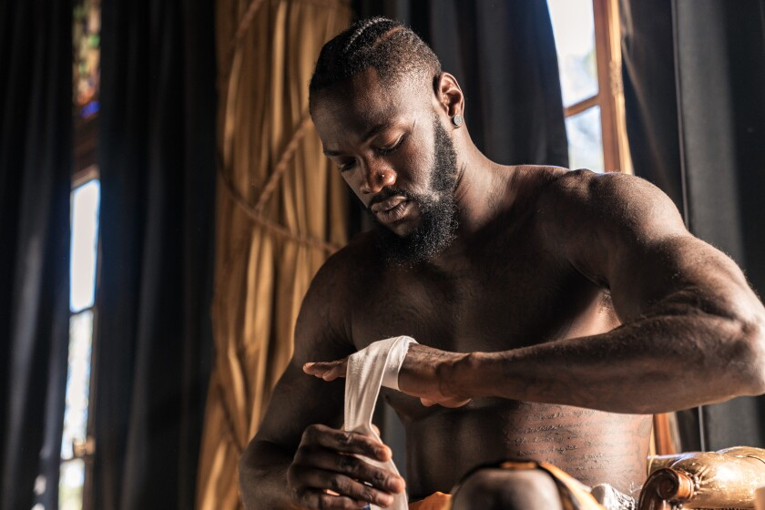 Deontay Wilder doesn't let anything prevent his transformation into the Bronze Bomber