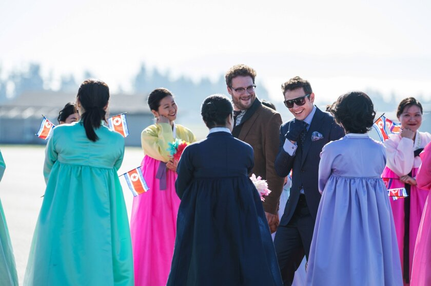 "With ""The Interview,"" it's the first time a major studio release has become available in what the industry calls day-and-date -- that is, available for home viewing at the same time it opens in theaters."