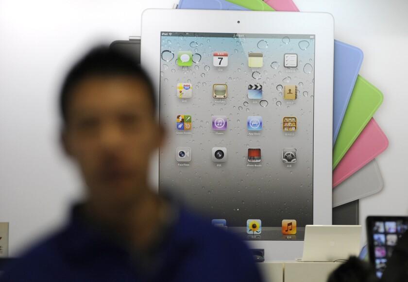 Apple iPad 2 in China