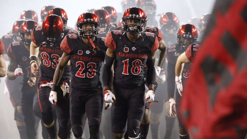 The San Diego State football team returns more than half its starters for the 2019 season.
