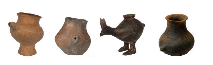 Prehistoric feeding vessels