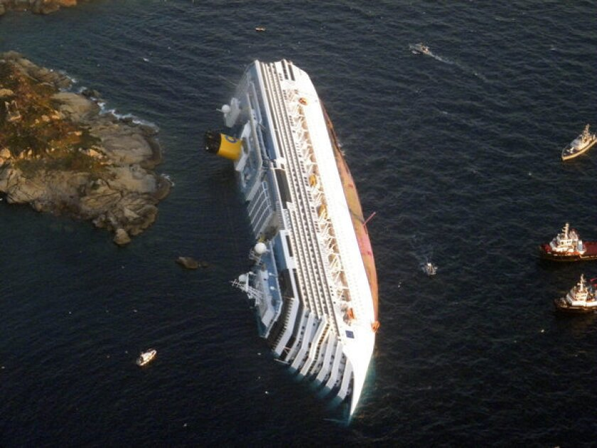 Costa Concordia firm fined $1.3 million for shipwreck off Italy