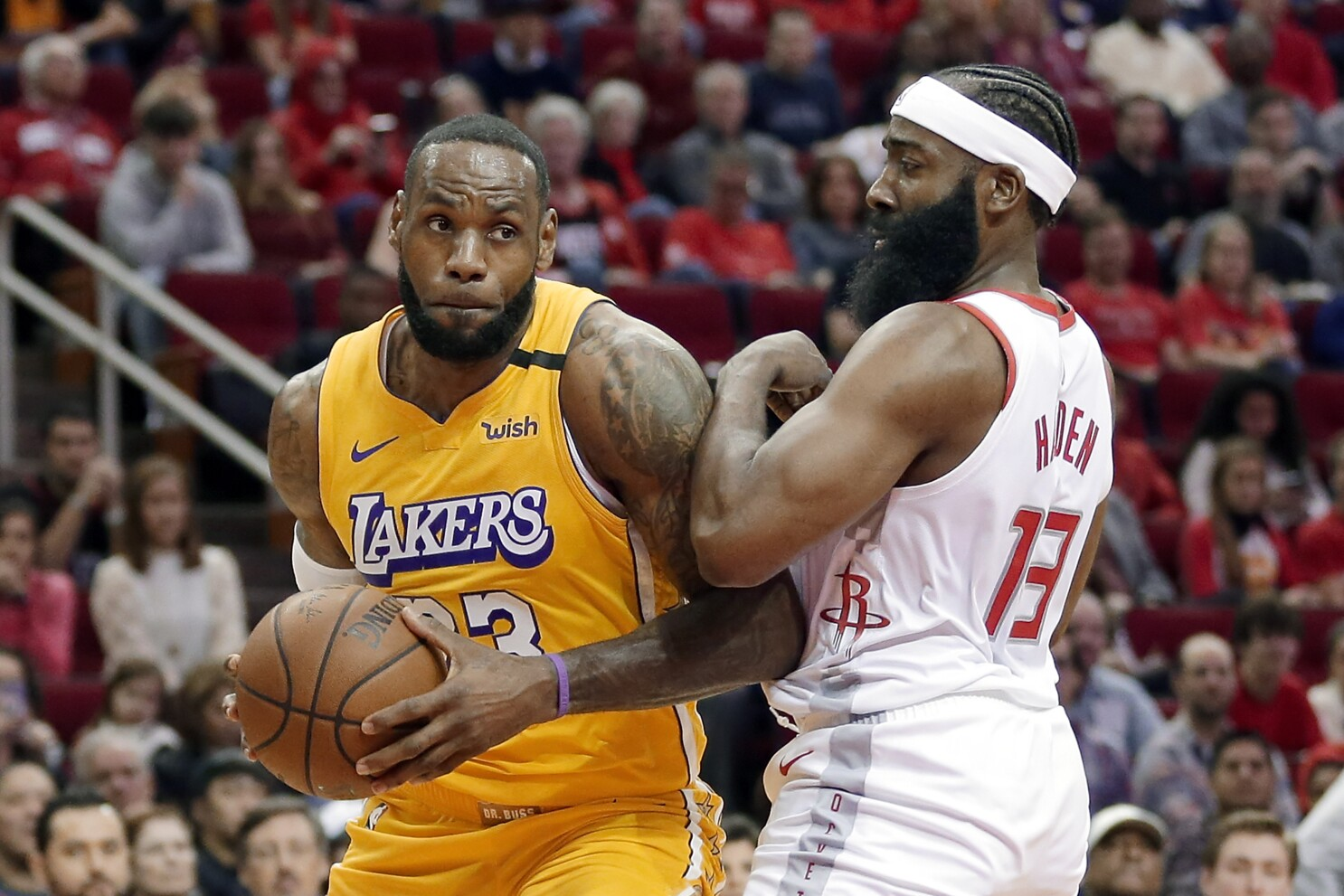 Lakers dominate in the second half to beat Rockets - Los Angeles Times