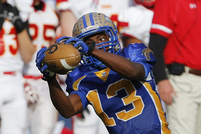 JaJuan Thomas of San Pasqual was chosen Offensive Player of the Year in the Avocado East League.