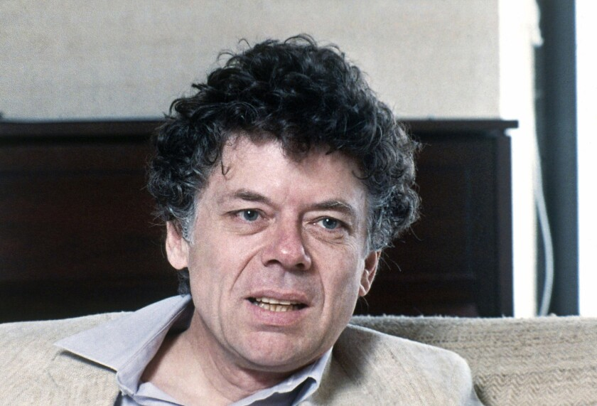 A 1986 file photo, Gordon Getty, American composer and billionaire poses for a portrait.