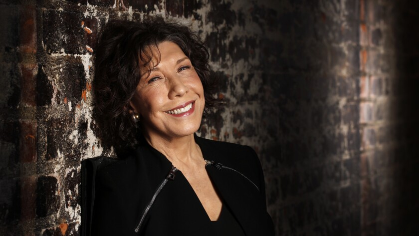 """Actress-comedian Lily Tomlin has a film releasing called """"Grandma"""" and also has a show on Netflix called """"Grace and Frankie."""""""