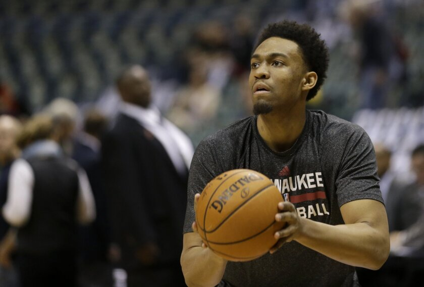 Jabari Parker, chosen No. 2 overall by Milwaukee in 2014, started 25 games for the Bucks before a season-ending ACL injury.