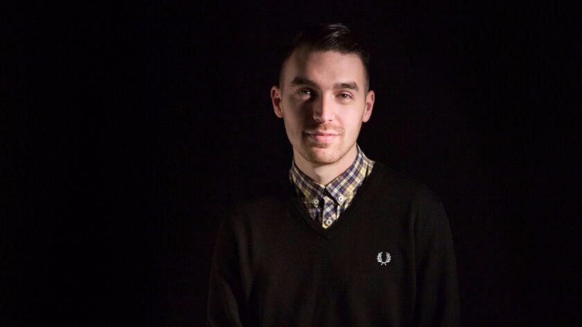 Matt Saincome, editor of the satire site the Hard Times.